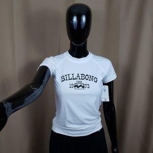 Billabong | Core SS |  Medium White Logo T-Shirt